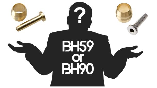 Shimano BH59 or BH90 油管,我到底需要哪一種呢?